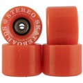Ruedas Stereo Vinyl Cruiser Orange 59mm Abec 7